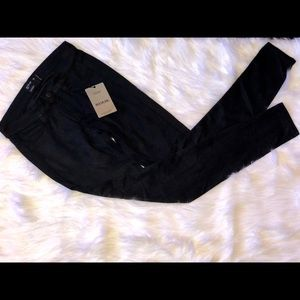 Bleulab Pants - Women's Reversible and Perforated  Suede Leggings